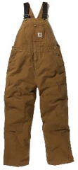 Youth Insulated Bib Overall - Medium