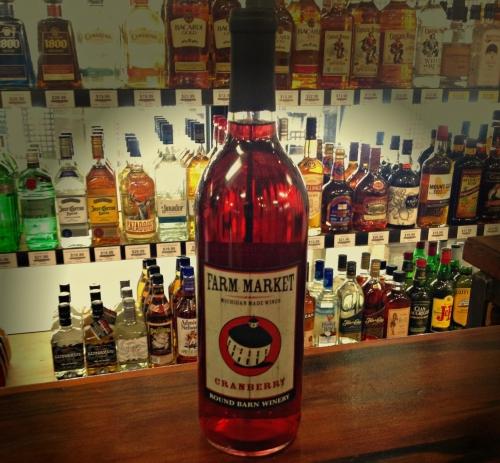 Round Barn Cranberry Wine