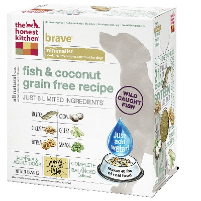 Brave Fish & Coconut Dog Food, 4 lb