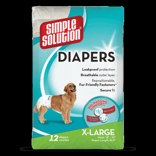 Bramton Company Simple Solutions Disposable Diapers - XLarge