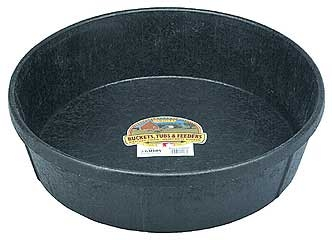 3 Gallon Duraflex Rubber Feed Pan