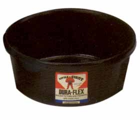 4 QT. Duraflex Rubber Feed Pan