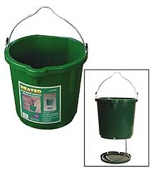 5 Gallon Heated FL BK Bucket