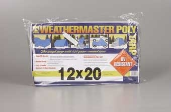 12' X 20' Blue Poly Tarp