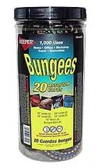 20 Piece Bungee Cord Jar