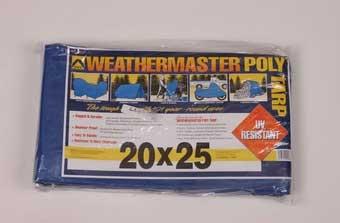 20' X 25' Blue Poly Tarp