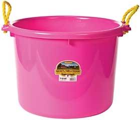 Duraflex Muck Tub Hot Pink 70Qt.
