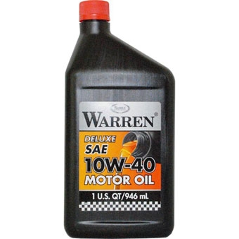 Warren Synthetic Blend Oil 10W40 QT.