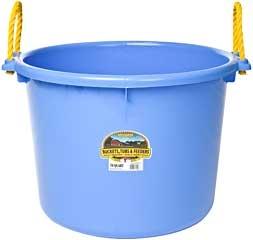 Duraflex Muck Tub Berry Blue 70Qt.