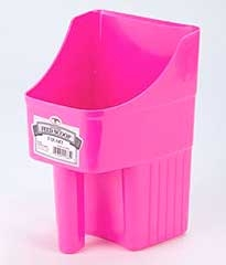 Enclosed Feed Scoop Hot Pink 3 QT.