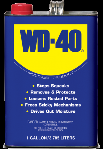 Case of 1 Gallon WD-40