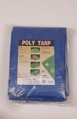 20' X 40' Weathermaster Poly Tarp Blue