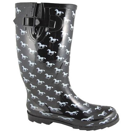 Smoky Mountain Rubber Boot - Pony Print