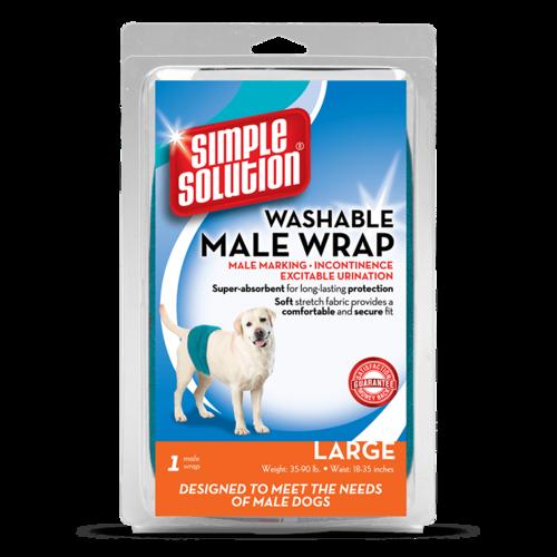 Bramton Company Simple Solution Male Diaper Garment Wrap - Large