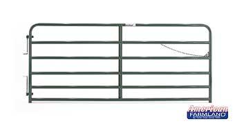 14' XHD Bull Gate - 6 Bar - Green
