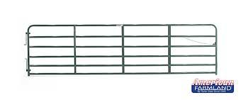 16' XHD Bull Gate - 6 Bar - Green