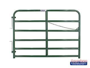 6' XHD Bull Gate - 6 Bar - Green