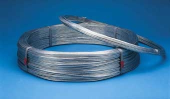 Bekaert Galvanized Smooth Wire 11 GA 270' 10 #