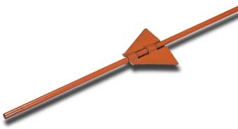 "Dare Set-Eze Adjustable Steel Post 5/16"" X 48"""