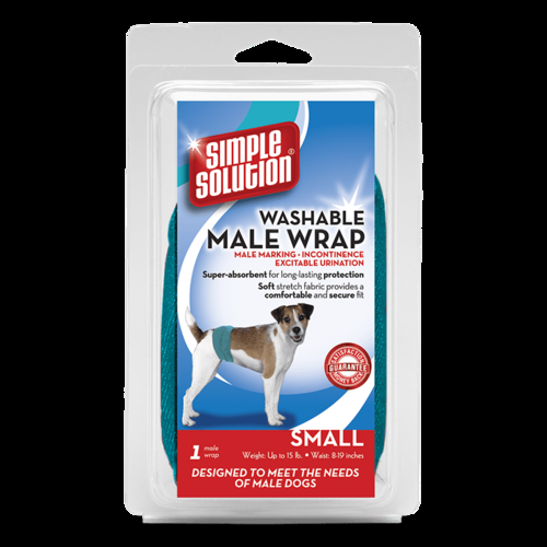 Bramton Company Simple Solution Male Diaper Garment Wrap - Small