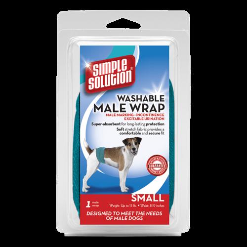 Bramton Company Simple Solution Male Diaper Garment Wrap - Small