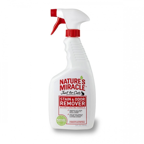 Nature's Miracle Just for Cats Stain & Odor Remover 24oz