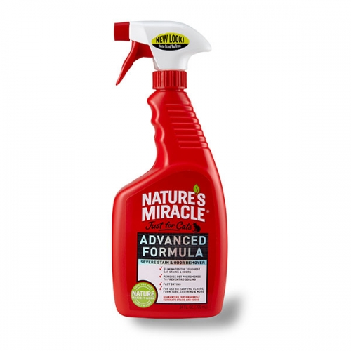 Nature's Miracle Advanced Just for Cats Stain & Odor Remover
