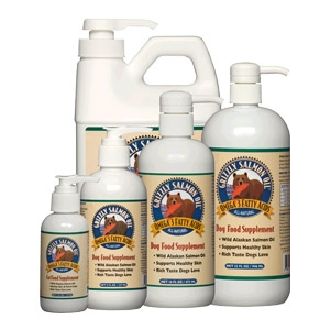 Grizzly Salmon Oil™ Pet Food Supplement