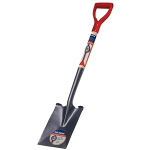 True American Garden Spade with Poly D-grip