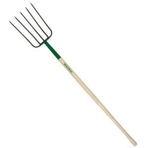 UnionTools 5-Oval Tine Manure Fork 48