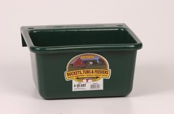 6QT. Green Mini Feeder