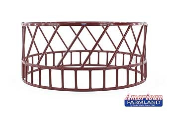 8' 2PC Round Hay Feeder-Red