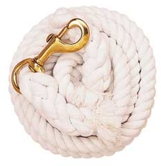 Cotton Lead Rope-White