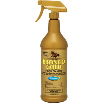 Bronco Gold Equine Fly Spray 32 oz.