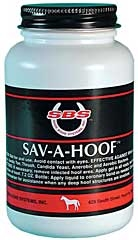 SBS Sav-A-Hoof Liquid 7.5 oz.