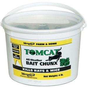 Tom Cat All-Weather Bait Chunx 4lb Pail
