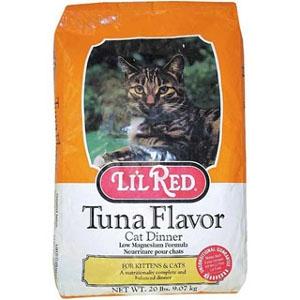 Lil Red Tuna Flavor Cat Dinner 20lb