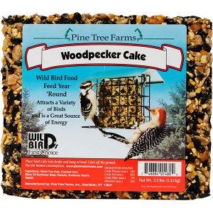Pine Tree Farms Woodpecker Cake