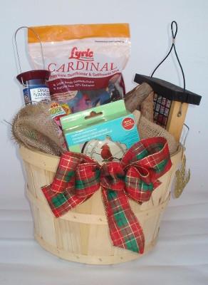 Bird Lovers Gift Basket