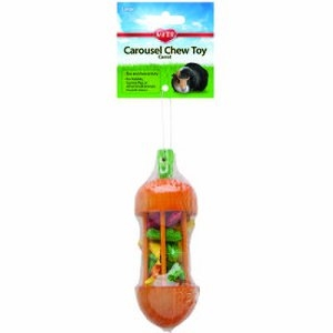 Kaytee® Carousel Chew Toy, Carrot, Large