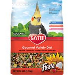 Kaytee Fiesta Max Food Gourmet Variety Diet for Cockatiels