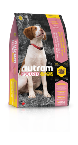 S2 Nutram Sound Balanced Wellness® Natural Puppy FoodChicken & Oatmeal with Green Pea Recipe