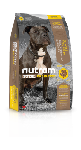 T25 Nutram Total Grain-Free® Salmon & Trout Recipe Natural Dog FoodPrepared for All Life Stages