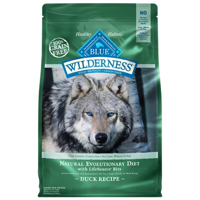 BLUE Wilderness Grain Free Duck Dry Dog Food