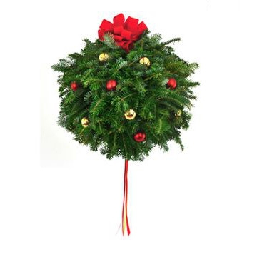 Fraser Fir and Balsam Decorated Kissing Ball