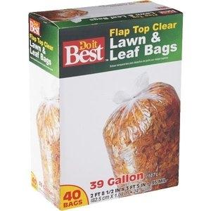 Do it Best Clear Lawn & Leaf Bag