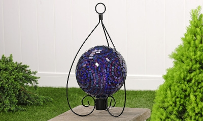 Metal Gazing Ball Hanger