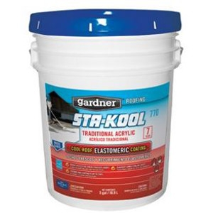 Gardner-Gibson Elastomeric Roof Coating- 5 Gal.