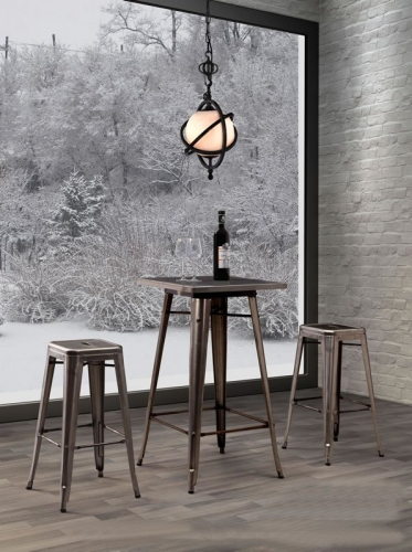 Philia Bar Table With Stools