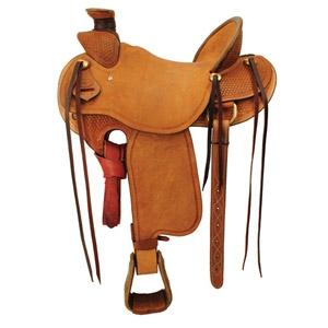 Ozark Saddle King Of Texas Old West Roping Saddle